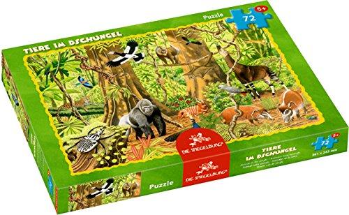 Spiegelburg 12702 Puzzle de animales en la jungla (72 piezas)