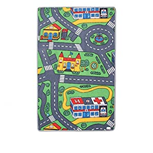 Kids Car Circuit Playmat 120x80cm by Cavendish Trading