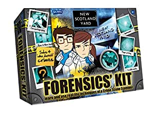New Scotland Yard – Malette de la Police Scientifique – Version Anglaise (Import Royaume Uni)