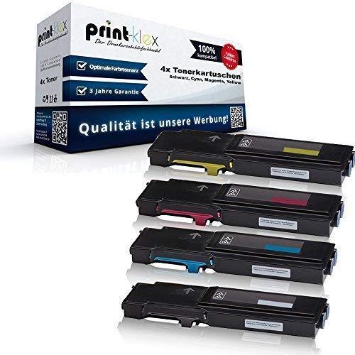 Xerox Rebuilt-toner (4x XXL kompatible Tonerkartuschen für Xerox WorkCentre 6605dn WorkCentre 6605dnm WorkCentre 6605n WorkCentre 6605 dn WorkCentre 6605 dnm WorkCentre 6605 n Black Cyan Magenta Yellow - 106 R02229 106 R02230 106 R02231 106 R02232 - Office Plus Serie)