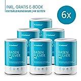 tri.balance Basenpulver Pro 300 g - 6er Pack inkl. E-Book Entsäuerungskur I Zum Säure-Basen-Ausgleich I Beim Sport - Diät - Basenfasten I vegan