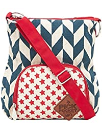 Pick Pocket Girls Sling Bag (Multi) (Slstarstrip297)