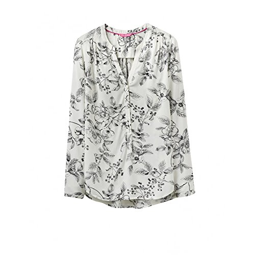 Rosamund Joules Pop Sur Ladies Blouse (v) Cream Winterberry
