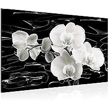 Bild Blumen Orchidee Wandbild Vlies   Leinwand Bilder XXL Format Wandbilder  Wohnzimmer Wohnung Deko Kunstdrucke 70