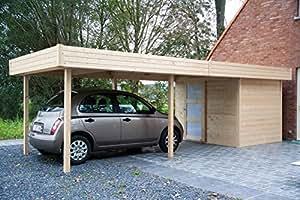 Abri de jardin en bois Randers 16,46m²