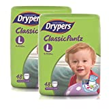 #7: Drypers Classicpantz Large Size Diapers (Pack of 2, 48 Counts per Pack)