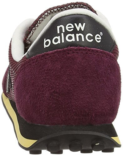 New Balance  U410,  Unisex Erwachsene Sneakers Red (Vintage Dark Red/Black)