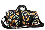 Everest Pattern 16-Round Duffel Bag, Tacos, One Size