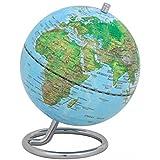 emform Mini-Globus, Galilei Physical No1, Metall & Kunststoff, 130 x 170 mm