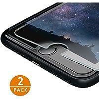 iPhone 7/ iPhone 8 Pellicola Protettiva IZUKU 2 Pack Pellicola Vetro Temperato Screen Protector Film Ultra Resistente (0.26mm HD Alta Trasparenza) per iPhone 7/iPhone 8/iPhone 6
