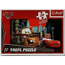 Puzzle mini 54 Auta