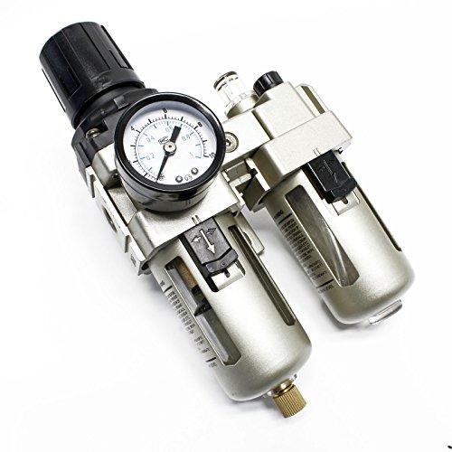 """Druckluft Wartungseinheit 12,91 mm (1/4\"""") IG Filter Regler Wasserabscheider Ölnebler"""