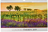 Die Kunst der Fotografie - Farben 2019 - Bildkalender quer (50 x 34) - Landschaftskalender - Naturkalender