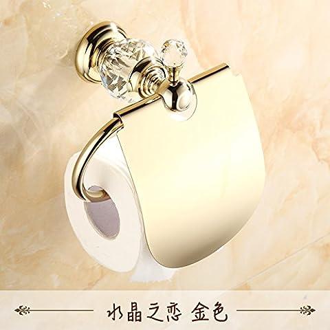 GFEI jade - rack, toilettenpapier halter / kupfer toilettenpapier papier rack / gold, marmor, antike toilettenpapier handtuchhalter,d