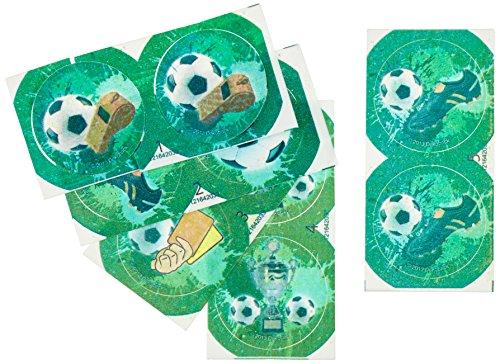 12 Zucker-Muffinaufleger Fußball - 4