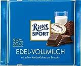 Ritter Sport Edel-Vollmilch, 1er Pack (1 x 100 g)