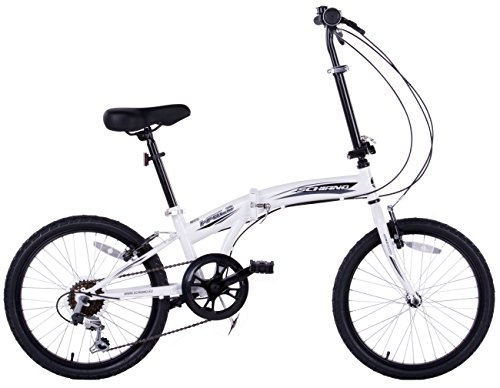 Cheapest Compact Folding Bike Folder City Commuter 6 Speed Bicycle 20