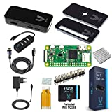 Vilros Raspberry Pi Zero W Complete Starter Kit with Black Case-EU Plug Edition