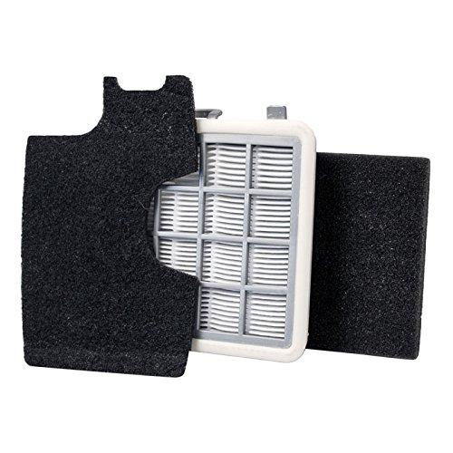 Ensemble de filtre AEG AEF146 pour Mobilite AE88 / ZML88 Filtres d'hygiène, filtres à mousse et à air d'échappement