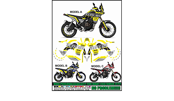 Sticker Kit For Tenere 700 T7 Factory Racing Decal Stickers Auto