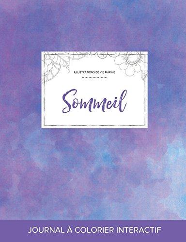 Journal de Coloration Adulte: Sommeil (Illustrations de Vie Marine, Brume Violette) par Courtney Wegner