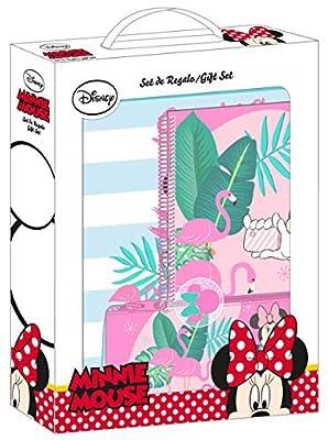 """Minnie Mouse """"Palms"""" Oficial Set de Regalo 280x60x350mm de Safta"""