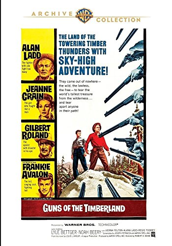 Price comparison product image Guns Of Timberland [DVD] [1960] - Alan Ladd, Gilbert Roland