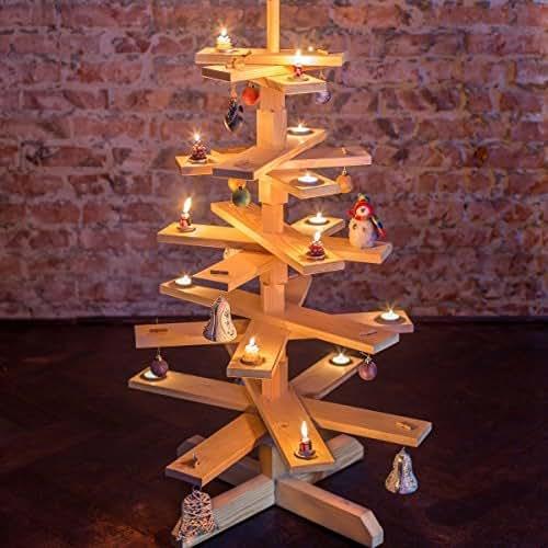 Das original bestloft weihnachtsbaum tannenbaum aus holz for Amazon weihnachtsbaum