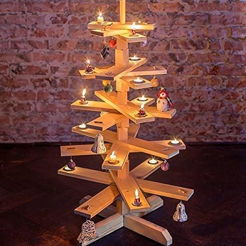 das Original-BestLoft® Weihnachtsbaum Tannenbaum aus Holz 90cm