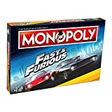 Winning Moves Fast and Furious Monopoly Jeu de société
