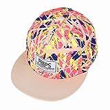 Gorra de béisbol unisex de tamaño ajustable con cierre trasero, para el sol, para conductor de camión, senderismo, Hip Hop de Yohope, Brown colorful