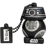 Tribe Star Wars 8 First Order BB Unit USB Stick 16 GB Speicherstick 2.0 High Speed Pendrive Memory Stick Flash Drive, Lustige Geschenke 3D Figur, USB Gadget aus Hart-PVC mit Schlüsselanhänger