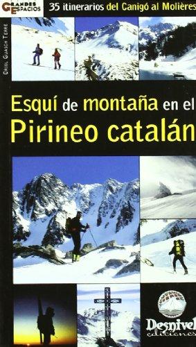 Esqui de montaña en el pirineo catalan