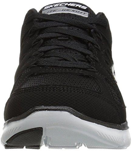 SKECHERS Flex Appeal 2.0-Simplistic Damen Sneaker schwarz Schwarz (Schwarz)
