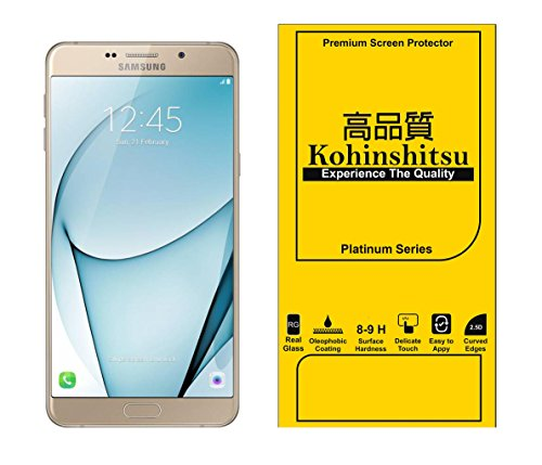 Kohinshitsu Platinum Series Screen Guard - Tempered Glass Screen Protector for Samsung Galaxy A9 Pro / Samsung A9 Pro 2016 Model Mobile Phone