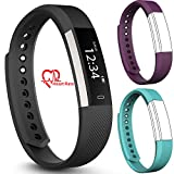 Best Coolest Men's Watches - fbandz Altum ID115HR Activity Tracker Fitness Band Smart Review