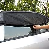 Haosen 2 Paquetes Parasol Coche Bebe / Malla transpirable - Protección del Bebé y la Mascota Contra los Rayos UV y el Calor