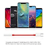 ACOCOBUY USB C to 3.5mm Adapter for OnePlus 7 Pro Headphone Adapter Type C to 3.5mm Audio Headphone Jack Adaptor Compatible with OnePlus 6T / 7T/ 7 Pro, HUAWEI P30 Pro/P20 Pro/Mate 20 Pro/Mate 10 Pro