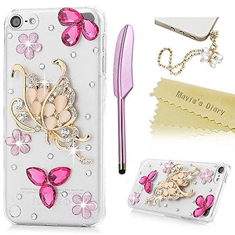 Mavis's Diary iPod Touch 6 Case - 3D Handmade Bling
