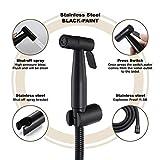 ZHHID Edelstahl Bad Bidet Set - Bidet Handbrause für persönliche Hygiene, Stoffwindel-Reinigung und WC-Waschen