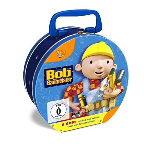 Bob der Baumeister - Die 2. Bob Tin-Box(Limited Edition) [5 DVDs]