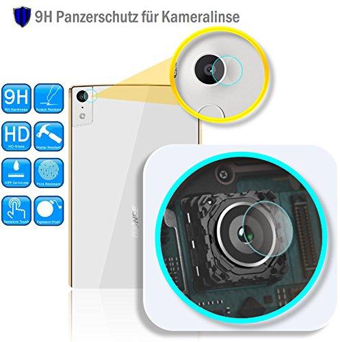 Genieforce ✔Premium Kamera Objektiv HD+ Panzerfolie Schutzfolie für Gionee Elife S5.5 - Kameralinse Schutz - Tempered Glass Protector - 0,2mm Hartglas - 9H Ultra Hart - 2.D Ro& Edge + Profi Einbauset ֎