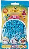 Hama perlas color azul 1000 unidades Hoffi 2602499