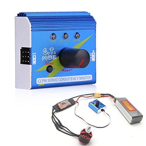 Motor Servo Tester Multifunzione ESC Master Speed Controller Motor Checker