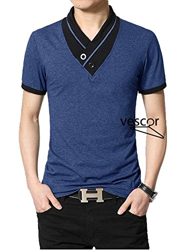 Navy Mens t shirt by vescor | fashion, t shirt | (M)