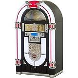 Ricatech RR2000 - jukeboxes (30W, Clásico, Plano, Jazz, Pop, Roca, CD, CD-R, CD-RW, AM, FM, SD, 3.5 mm) Negro