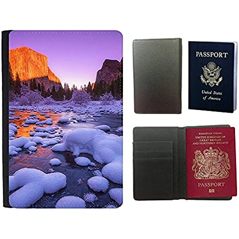 Passeport Voyage Couverture Protector // F00003179 playa de la puesta del sol Varadero // Universal passport leather cover