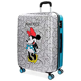Disney Minnie Blue Equipaje Infantil, 69 cm, 75 litros