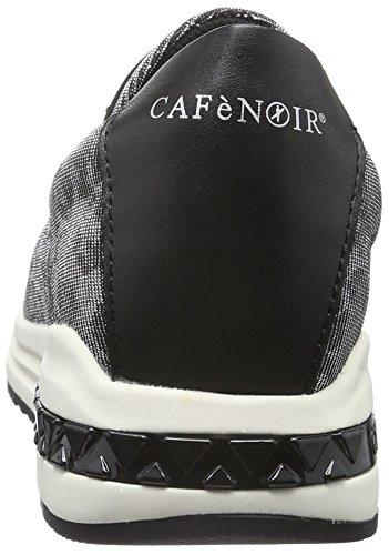 Café Noir Nda903, Mocassins femme Argent - Silber (Argento 204)