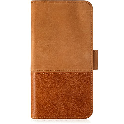 Preisvergleich Produktbild holdit Selected Wallet Case for iPhone X Brown Leather Suede